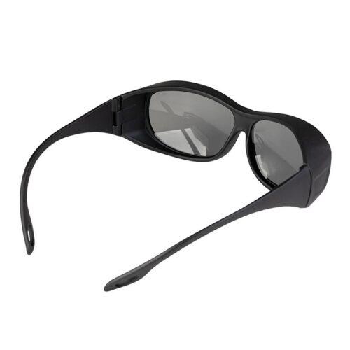 عینک محافظ لیزر مشکی رنگ