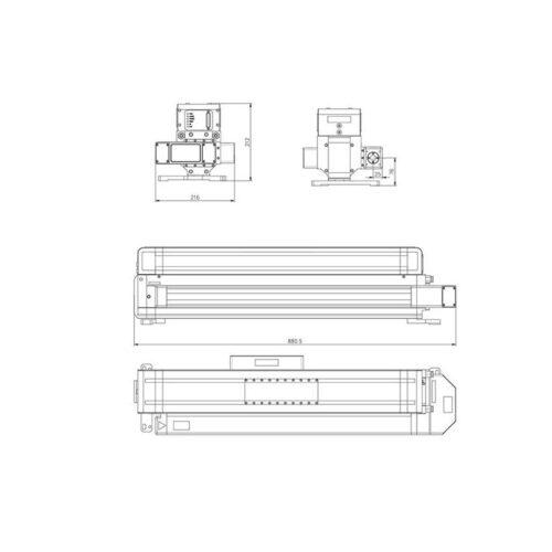 اندازه دقیق لیزر RF مدل Q-200