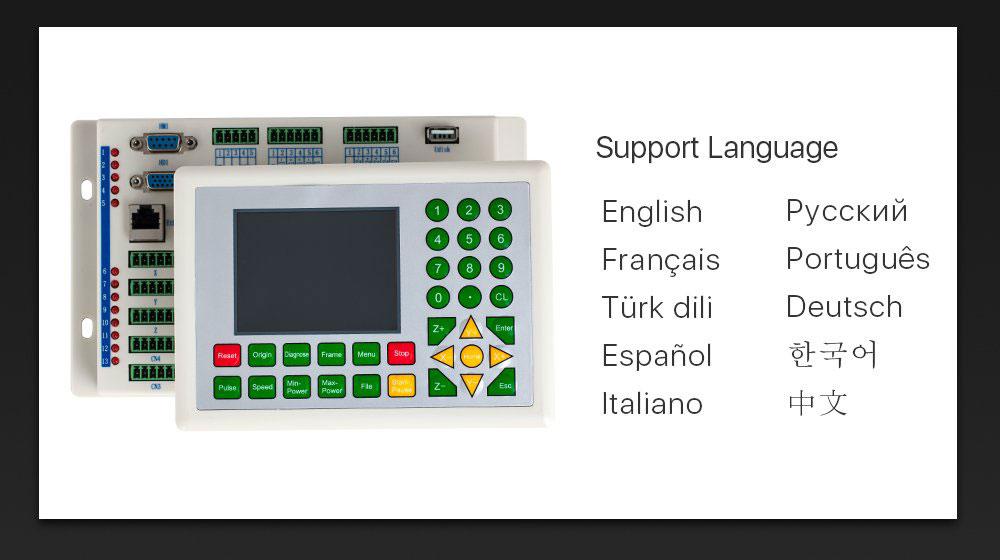 پشتیبانی از زبان های مختلف