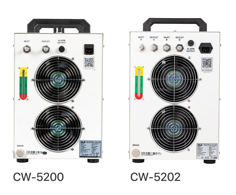 چیلر صنعتی S&A مدل CW5200 & CW5202